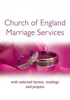 Church of England Marriage Services, Peter Moger