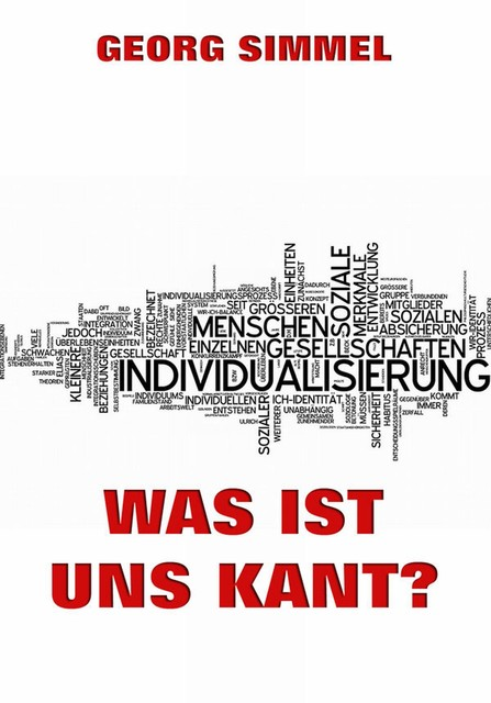 Was ist uns Kant, Georg Simmel
