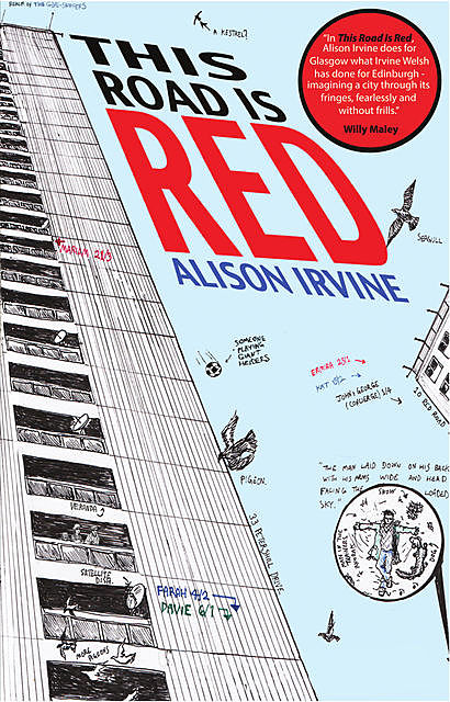 This Road is Red, Alison Irvine