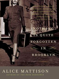 Nothing Is Quite Forgotten in Brooklyn, Alice Mattison