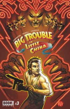 Big Trouble in Little China #3, Eric Powell