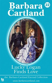 Lucky Logan finds love, Barbara Cartland