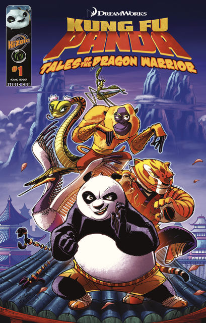 Kung Fu Panda v.1, Quinn Johnson, Keith DeCandido