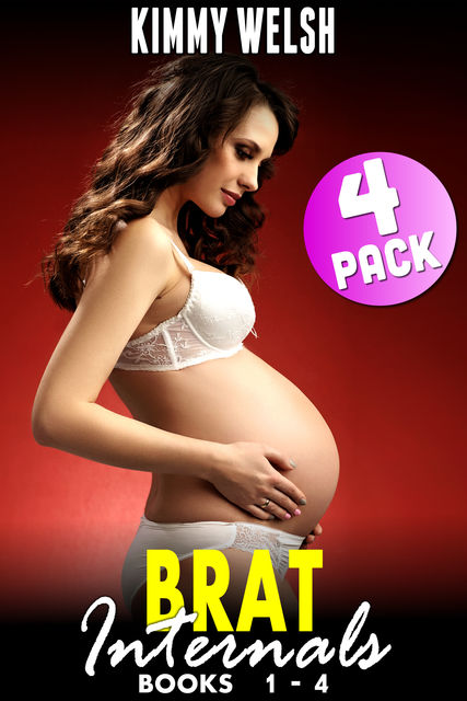 Brat Internals 4 Pack : Books 1 – 4, Kimmy Welsh