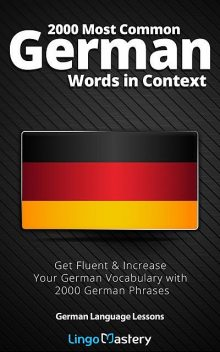 2000 Most Common German Words in Context, Lingo Mastery