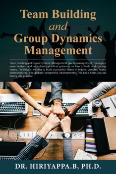 Team Building and Group Dynamics Management, Hiriyappa B