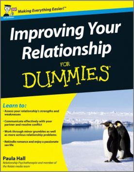 Improving Your Relationship For Dummies, Paula Hall