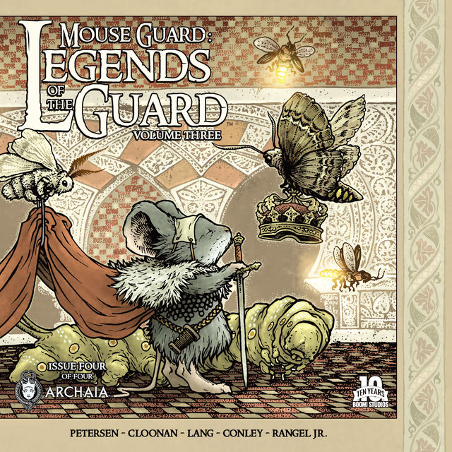 Mouse Guard Legends of the Guard Vol. 3 #4 (of 4), David Petersen, Becky Cloonan, Fabian Rangel Jr., Ryan Lang