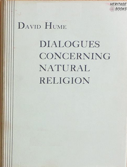 Dialogues Concerning Natural Religion, David Hume, Luka Reid