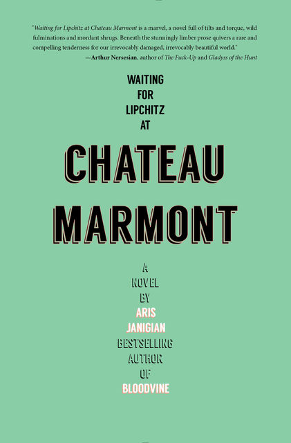 Waiting for Lipchitz at Chateau Marmont, Aris Janigian