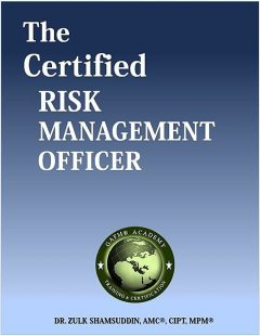 The Certified Risk Management Officer, Zulk Shamsuddin
