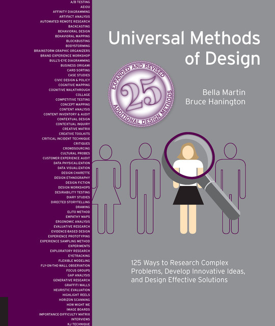 Universal Methods of Design Expanded and Revised, Bruce Hanington, Bella Martin