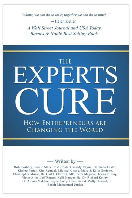 The Experts Cure: How Entrepreneurs Are Changing the World, Rob Kosberg