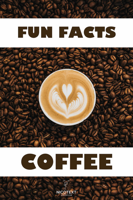 Fun facts COFFEE, Nicotext Publishing