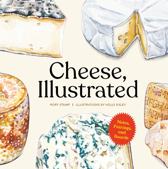 Cheese, Illustrated, Rory Stamp