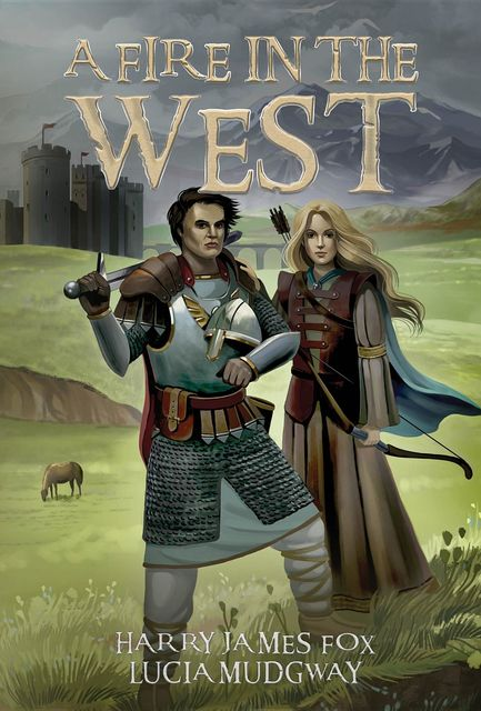 A Fire in the West, Harry Fox, Lucia Mudgway
