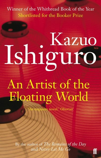 An Artist of the Floating World, Kazuo Ishiguro