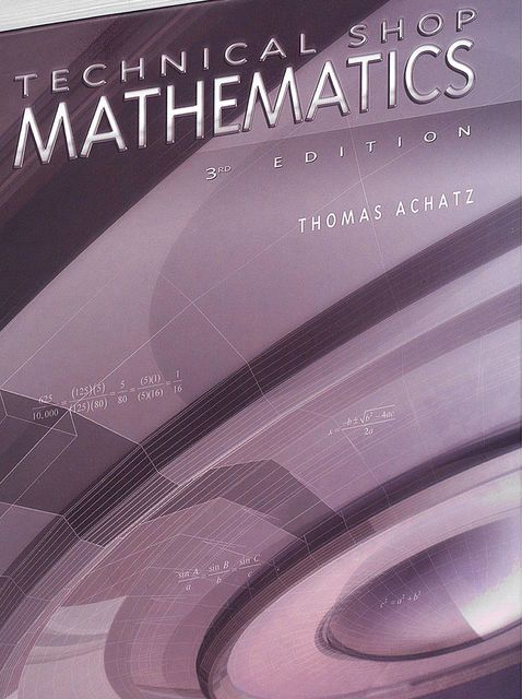 Technical Shop Mathematics, Thomas Achatz