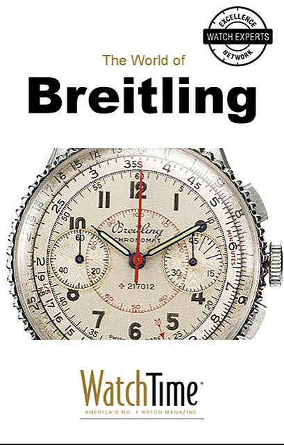 5 Milestone Breitling Watches, from 1915 to Today, WatchTime. com