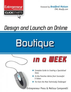 Design and Launch an Online Boutique in a Week, Melissa Campanelli