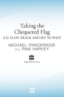 Taking the Chequered Flag, Michael Panckridge, Pam Harvey
