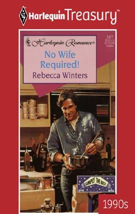 No Wife Required, Rebecca Winters