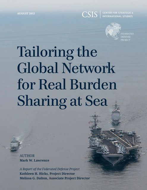 Tailoring the Global Network for Real Burden Sharing at Sea, Mark Lawrence