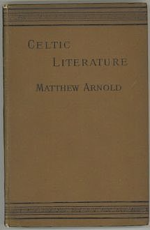 Celtic Literature, Matthew Arnold