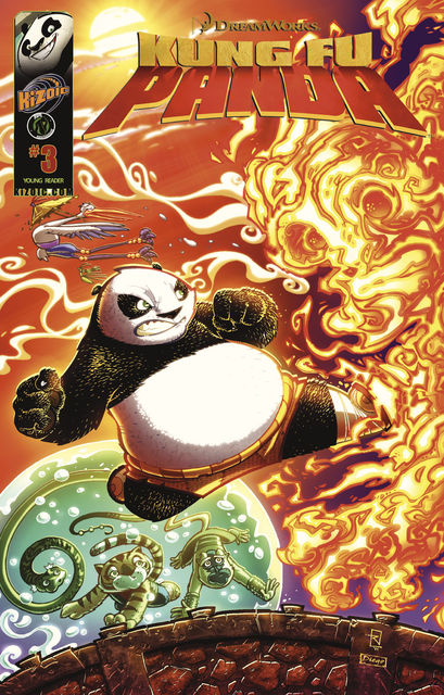 Kung Fu Panda Vol 1 Issue 3, Matt Anderson, Eric Hutchins, Chad Lambert
