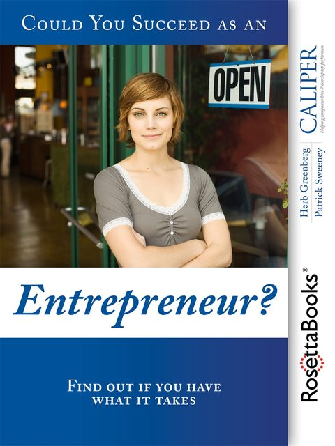 Could You Succeed as an Entrepreneur?, Herb Greenberg, Patrick Sweeney