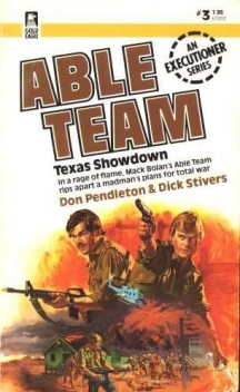 Texas Showdown, Don Pendleton, Dick Stivers
