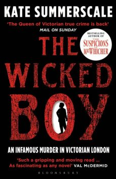 The Wicked Boy, Kate Summerscale