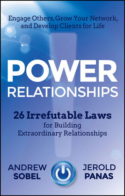 Power Relationships, Sobel Andrew, Jerold Panas