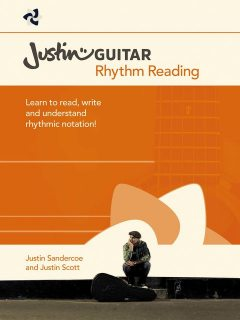 Justin Guitar: Rhythm Reading, Justin Scott, Justin Sandercoe