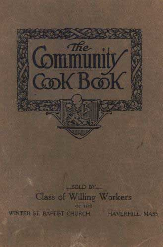 The Community Cook Book,