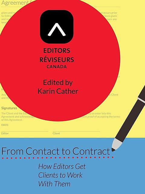 From Contact to Contract, Editors' Association of Canada, Association canadienne des réviseurs