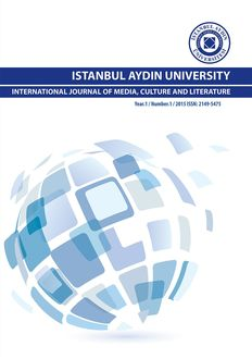 ISTANBUL AYDIN UNIVERSITY INTERNATIONAL JOURNAL OF MEDIA, CULTURE AND LITERATURE, iBooks 2.6