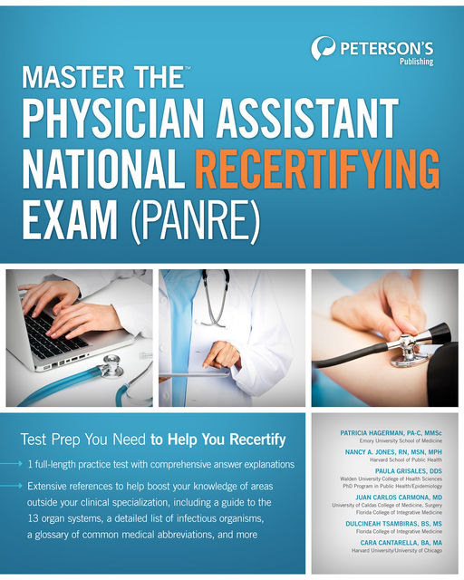 Master the Physician Assistant National Recertifying Exam (PANRE), Peterson's