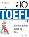 Scored 30 In Toefl Ibt Independent Writing Test, Matthew Brown