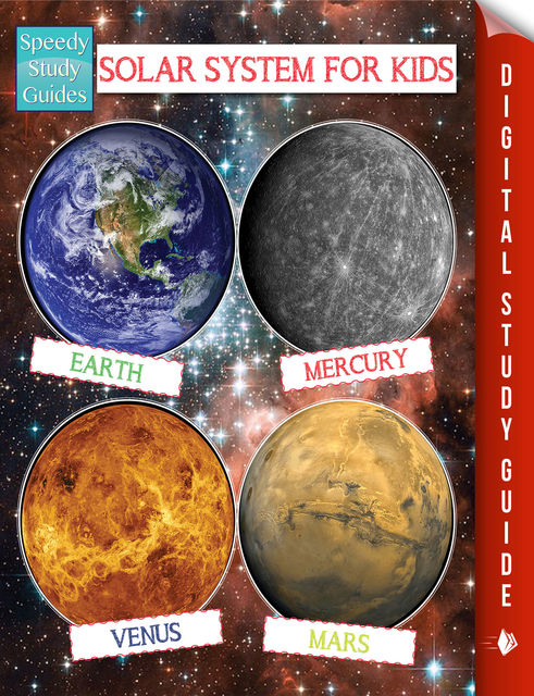 Solar System For Kids (Speedy Study Guide), Speedy Publishing
