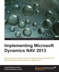 Implementing Microsoft Dynamics NAV 2013, Packt Publishing
