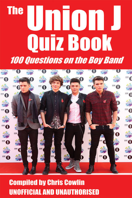 Union J Quiz Book, Chris Cowlin