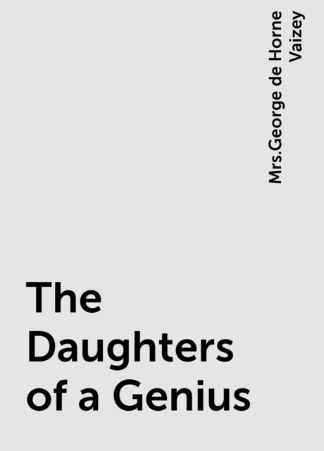The Daughters of a Genius,