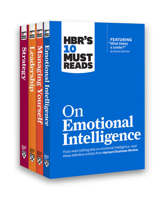 HBR's 10 Must Reads Leadership Collection (4 Books) (HBR's 10 Must Reads), Harvard Business Review