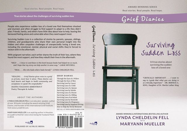Grief Diaries, Lynda Cheldelin Fell, Maryann Mueller