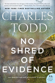 No Shred of Evidence, Charles Todd