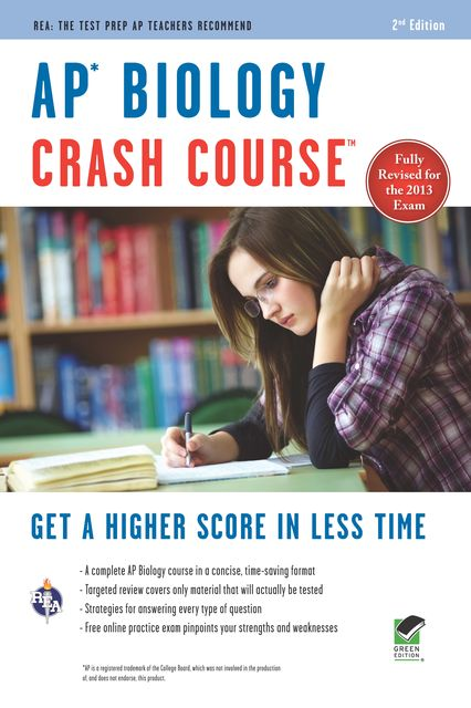 AP Biology Crash Course Book + Online, Lauren Gross, Michael D'Alessio