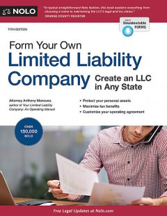 Form Your Own Limited Liability Company, Anthony Mancuso
