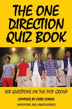 One Direction Quiz Book, Chris Cowlin