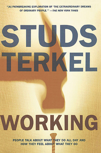 Working, Studs Terkel